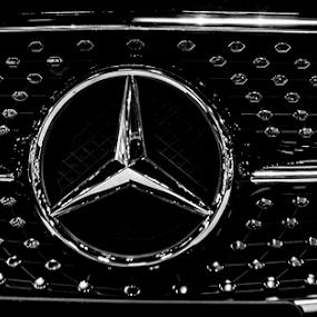 Mercedez grill by Sean Marquantte - Transportation Automobiles ( denver, auto, mercedes )