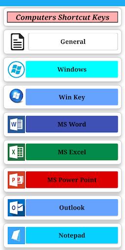 Computer Shortcut Key screenshot 5