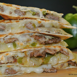 Cheese Steak Quesadilla Recipes