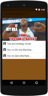 Guide For MyNBA2K17 - screenshot