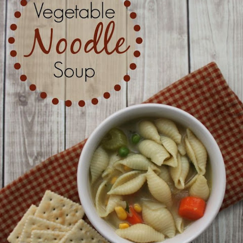 Easy Homemade Vegetable Noodle Soup