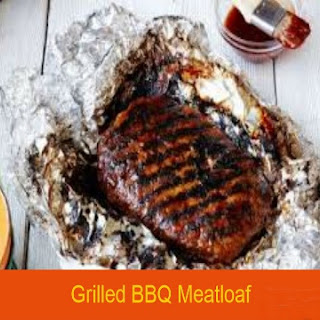 Grilled Barbecue Meatloaf