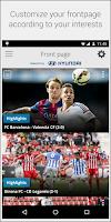Screenshot of La Liga TV – Official Football
