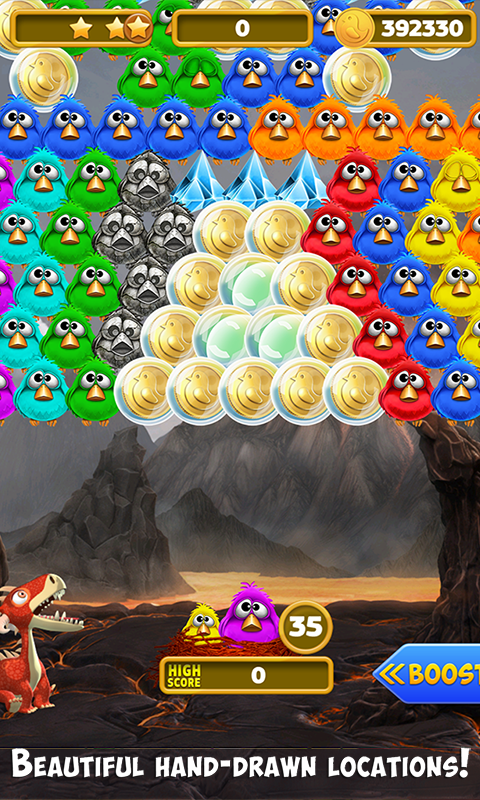 Bubble Shooter Birds Screenshot 1