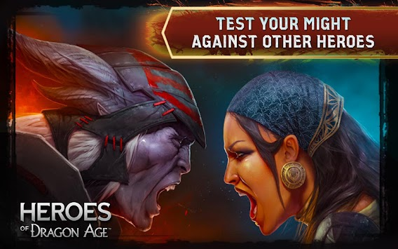 Heroes Of  Dragon Age APK screenshot thumbnail 8