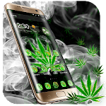 (FREE)Weed Rasta Smoke Theme Icon