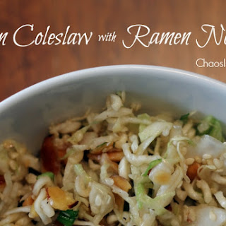 Asian Coleslaw with Ramen Noodles