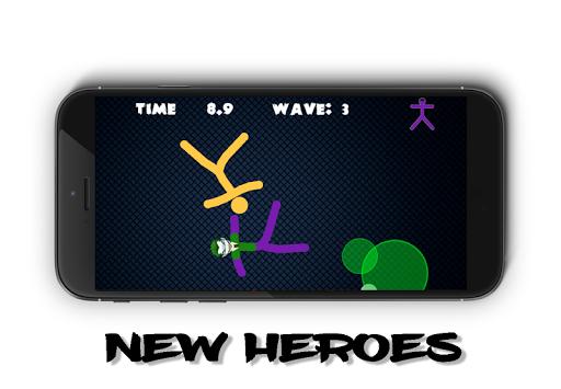 Stickman Warriors 4 Online For PC