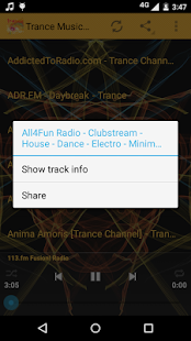 Trance Music ONLINE - screenshot