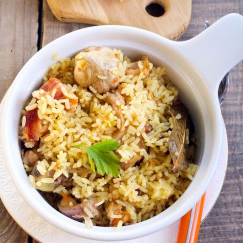 Classic Rice and Chicken Casserole