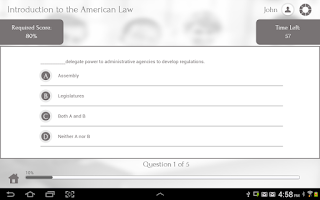 Screenshot of Learn US Law by GoLearningBus