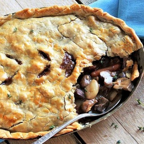 Beef Burgundy Pot Pie
