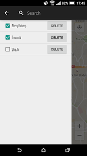 Location Alarm - screenshot