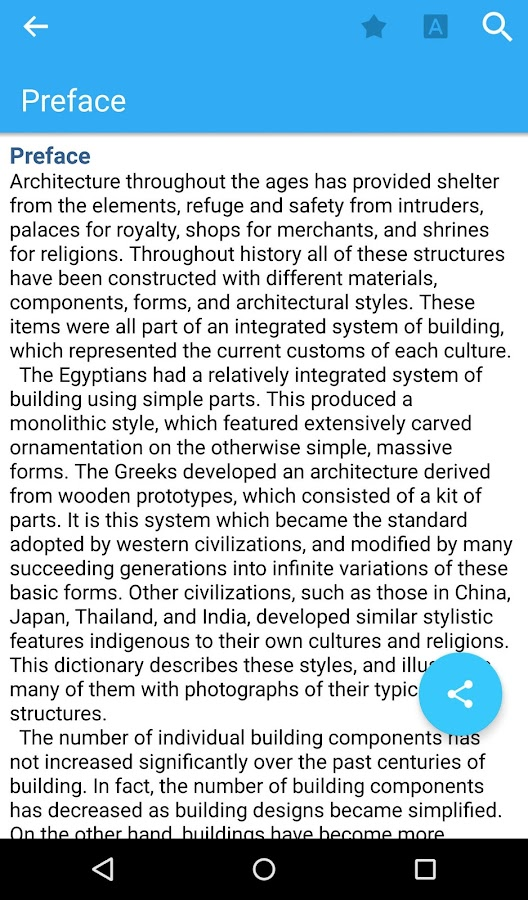 Dictionary of Architecture Screenshot 5