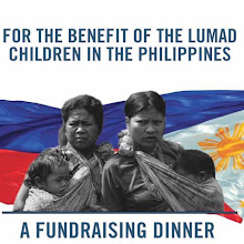 For the benefit of the Lumad Children in the Philippines: A Fundraising dinner