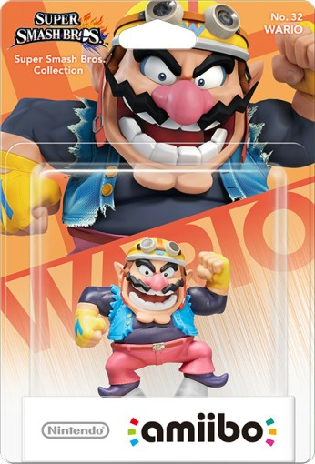 Wario packaged (thumbnail) - Super Smash Bros. series