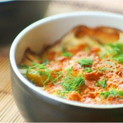 Potatoes Baked In Cream Cheese