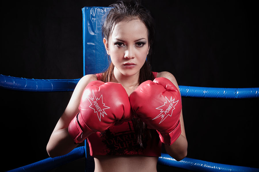 Round 1 by Arindra Arindra - Sports & Fitness Boxing ( model, sport, boxing )