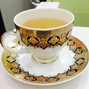 Fancy cup of tea  by Reynaldo Ugalde - Food & Drink Alcohol & Drinks ( #tea #healthy #koreantea )