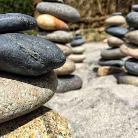 Balanced by Jake Robison - Nature Up Close Rock & Stone