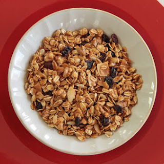 Walnut Raisin (or Date) Granola