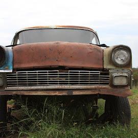 I've seen better days by Jody Czapla - Uncategorized All Uncategorized ( car, old, retro, transportation, antique, iron, abandoned )