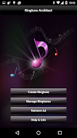 Screenshot of Ringtone Architect