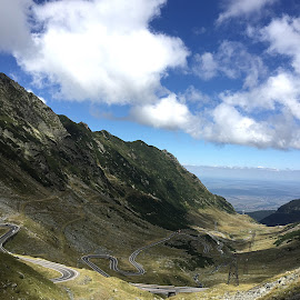 Transfagarasan , România by Adela Rusu - Landscapes Cloud Formations