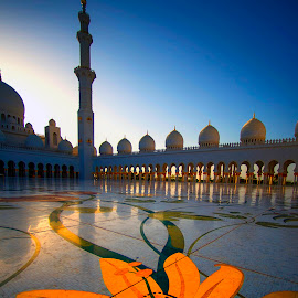 Sheikh Zayed Grand Mosque by Stanley P. - Buildings & Architecture Places of Worship ( mosque )