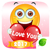 GO Keyboard Sticker Emoticon APK for Bluestacks