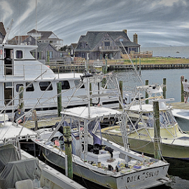by Doreen Rutherford - City,  Street & Park  Neighborhoods ( hatteras may 2015 )
