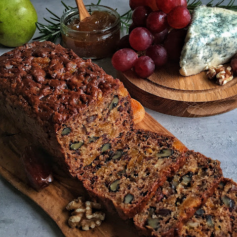 Apricot, Date & Walnut Spiced Bread