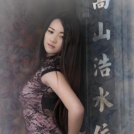 NiNi~ by Koon Lee - Digital Art People ( unique outfit, fashion, unique, girl, urban portrait, pretty girl, unique fashion, asia, urban fashion, women, pretty,  )