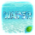GO Keyboard Theme Water APK for Bluestacks