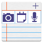 notePad Photos,Sounds,Sync Icon