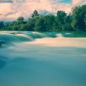 manavgat waterfall by Samet Işık - Landscapes Waterscapes