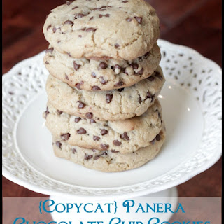 {Copycat} Panera Chewy Chocolate Chip Cookies