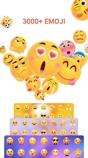 Kika Emoji Keyboard+Emoticons