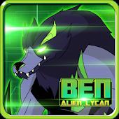 Alien Ben Blitzwolfer Lycan APK for Windows