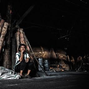 My Future by Nuzul Taufiq - People Street & Candids ( kilang arang, manusia hidup, our future, kuala sepetang, nuzultaufiq )
