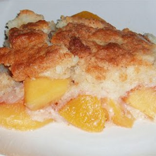 White Cake Mix Peach Cobbler Recipes