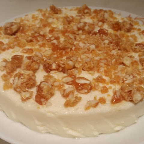 Coconut Pudding With Pralines