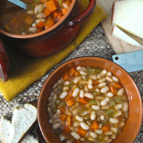 White Bean and Ham Stew