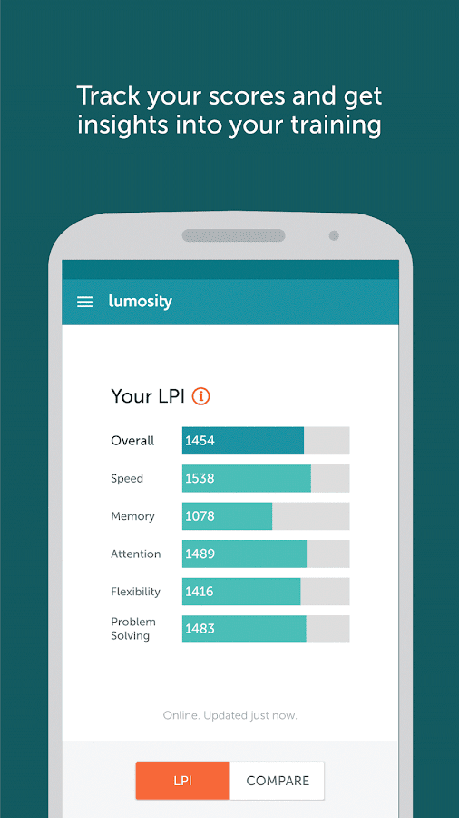 Lumosity - Brain Training Screenshot 3