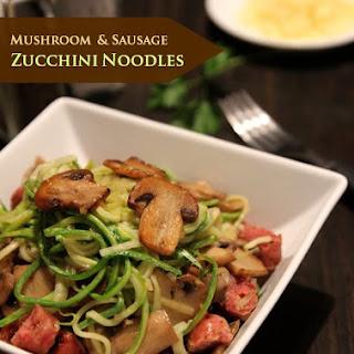 Sausage Zucchini Mushrooms Recipes