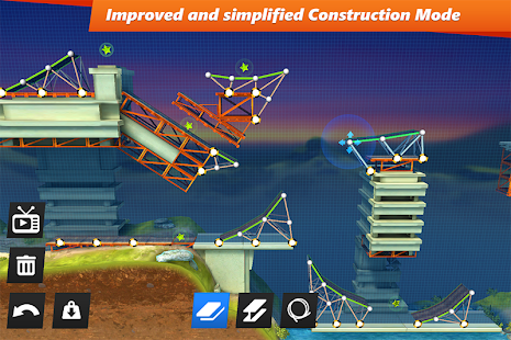 Bridge Constructor Stunts Cheats unlim gold