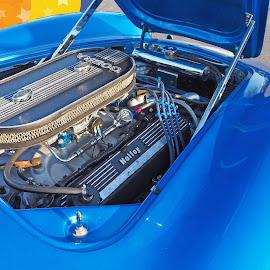 Ford Cobra Engine by Howard Mattix - Transportation Automobiles ( cars, car engines, transportation, hot rods, car shows )