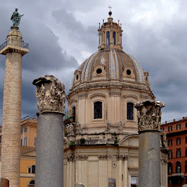 In Rome by Khaled Ibrahim - City,  Street & Park  Historic Districts