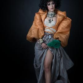 The Milenial Maria Clara by Don Davies - People Portraits of Women ( fashion, dress, design, portrait )