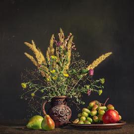 Nature morte № 1 by Дмитрий Баев - Food & Drink Fruits & Vegetables